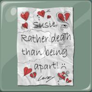 Carta de amor de Lenny para Susie