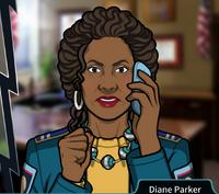Diane En el telefono2