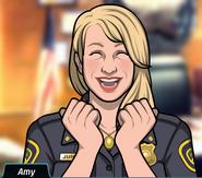 Heyecanlı Amy