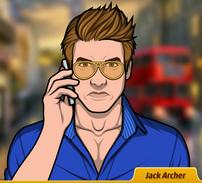 Jack hablando por telefono