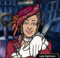 Lady Highmore en Atrápame Si Puedes