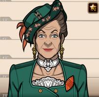 Lady Highmore en Una Baja en la Bolsa