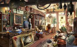 Tienda de Antiguedades de Galloway