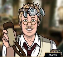 Charles con una taza de tetina1
