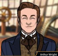Arthur sonriente