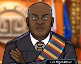 Juez Nigel Adaku