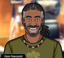 Yann sin su bata de laboratorio.