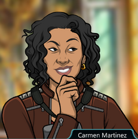 Carmen Sonriendo