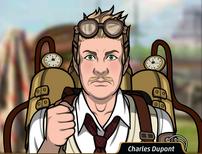 Charles usando un vaporoso7