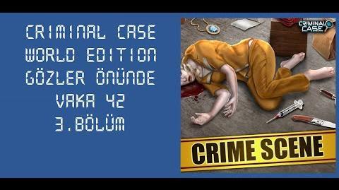 Criminal Case World Edition - Vaka 42 - Gözler Önünde - 3