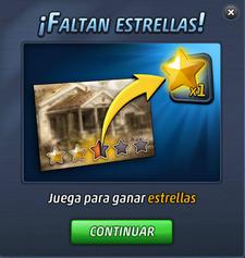 Faltan Estrellas
