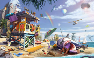 6 Costa ¡Tiburon Ataca!