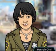 Hannah Choi Winking