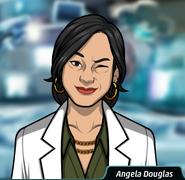 Angela Göz Kırparken