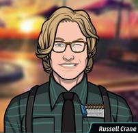 17 Russell Usando Gafas