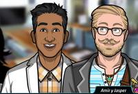 Amir y Jasper 1