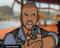 Jonah sacando su pistola 2
