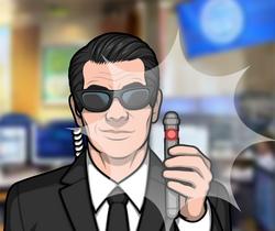 Agente Z borrando memoria del equipo