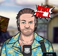 Frank Unhappy