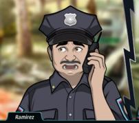 Ramirez En el teléfono, asustado2