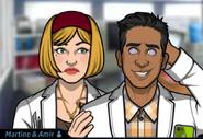 Martine and Amir 4