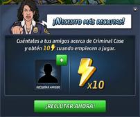 Andrea necesita más reclutas