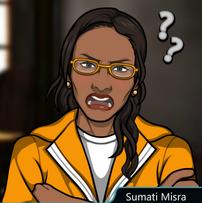 Dra. Misra en prisión
