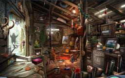 3. Shack Interior