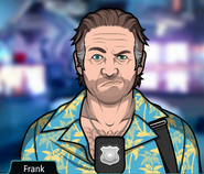 Frank serious