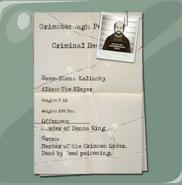 Kolinsky's File
