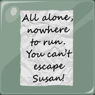 8 Nota que le enviaron a Susan Blair