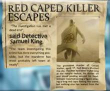 Un artículo sobre la muerte de Gerald