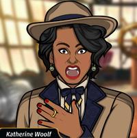 Katherine en El candidato maquiavélico