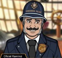 Oficial Ramirez en Atrapada Sin Salida