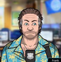 Frank Transpirando