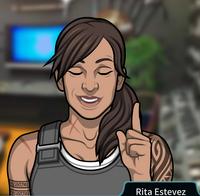 Rita Indicando