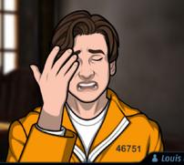 Louis uniforme prisión