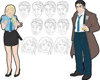 Amy y Frank Arte Conceptual