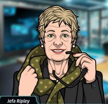 Ripley Quitandose el Disfraz