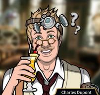 Charles con un rebujito