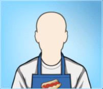 Hot Dog Vendor Apron