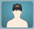 Polis Şapkası Kahkül