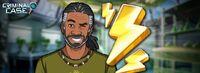Yann en una promoción de Energía Extra