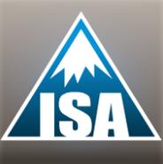 Logo de la Asociación Internacional de Esquí (ISA).