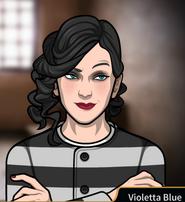 Violetta en prisión