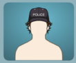 Police Cap male