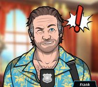 Frank Dando un Guiño