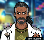 Yann Toussaint Angry