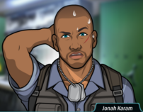 Jonah sudando 4