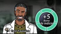Bono de Yann Toussaint